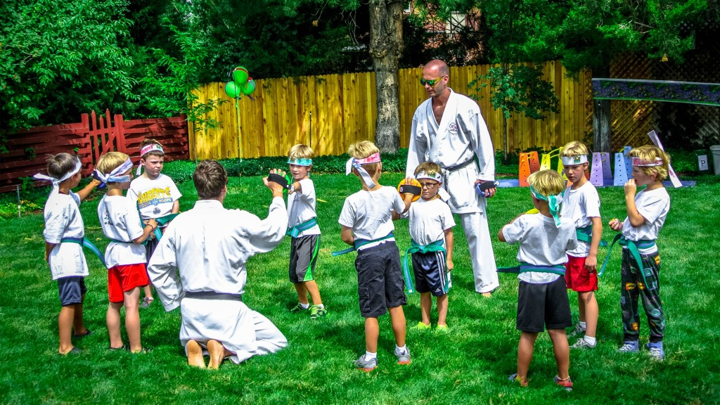 5. Karate Birthday Parties