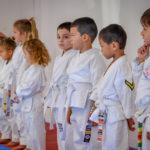 Little Ninjas took their first Karate Test! ... maybe it was the first test in their life?