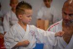 Belt test at the Okinawa Dojo